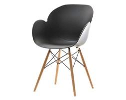 Krzesło Swan Wood Czarne