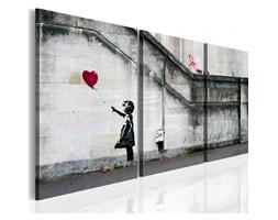 BIMAGO Obraz Zawsze jest nadzieja (Banksy) - tryptyk