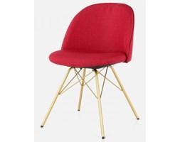 Tenzo Krzesło Ally Porgy czerwone nogi złote - AllyPorgy-CZE-Z