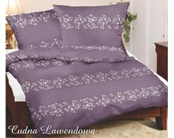 Komplet pościeli satynowej Special Edition Cudna Lawendowa 160x200