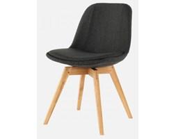 Krzesło Grace Bess antracytowe nogi drewniane Tenzo GraceBess-A-D