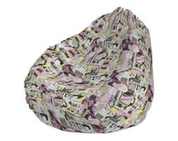 Dekoria Pokrowiec na worek do siedzenia, różowo-fioletowe fotografie, worek Ø60x105 cm, Comics
