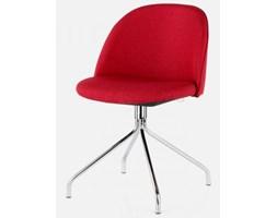 Tenzo Krzesło Ally Ego czerwone nogi chromowane - AllyEgo-CZE-CH