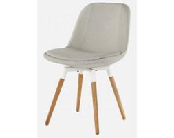 Tenzo Krzesło Grace Fido szare nogi drewniano-białe - GraceFido-S-DB