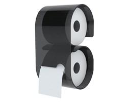Uchwyt na papier toaletowy B – Roll, szary,