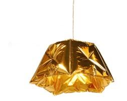 DENT - Lampa wisząca Złoty Ø53cm