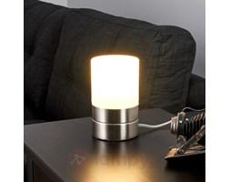 SEVDA – lampa stołowa LED w kształcie cylindra