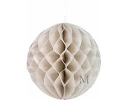 Dekoracyjna kula szaro-beżowa 35cm