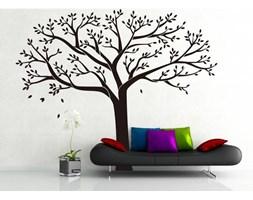 Naklejka dekoracyjna XXL czarne drzewo rodzinne