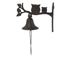Dzwonek metalowy nad drzwi Sowy