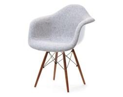 Krzesło Tapicerowane Mpa Wood Tap Szare