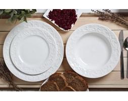 Serwis obiadowy HEMINGWAY na 6 osób (18 el.) -- biały - rabat 10 zł na pierwsze zakupy!