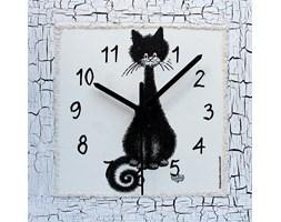 Zegar ścienny Kocurek