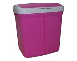 Kosz do segregacji śmieci ECOBIN 50L, fioletowy