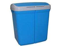 Kosz do segregacji śmieci ECOBIN 50L, niebieski