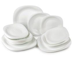 Luminarc Carine 18-częściowy komplet talerzy biały