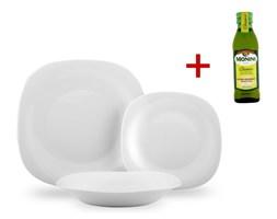 18-częściowy komplet talerzy Parma + PREZENT oliwa