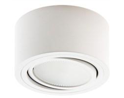 PP Design P 100 PLAFON NOWOCZESNA LAMPA SUFITOWA OPRAWA NATYNKOWA 12 CM ALUMINIUM BIAŁY GX53 LED NISKI