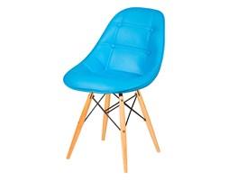 Krzesło King Bath DSW turkusowy kod: LI-KK-132PU.JASNY_NIEBIESKI - do kupienia: www.superwnetrze.pl
