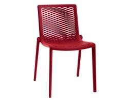 Krzesło Net-Kat czerwone kod: DK-19071 - do kupienia: www.superwnetrze.pl