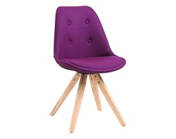 Krzesło D2 Norden Star pikowane fioletowe kod: DK-64598 - do kupienia: www.superwnetrze.pl