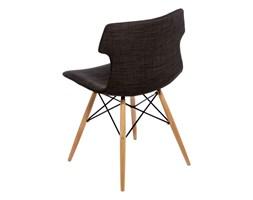 Krzesło Techno DSW tapicerowane brązowe kod: DK-41137 - do kupienia: www.superwnetrze.pl