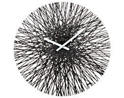 Zegar ścienny Koziol Silk czarny kod: KZ-2328526 - do kupienia: www.superwnetrze.pl