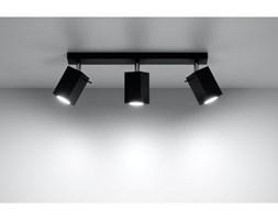 Nowoczesna Lampa Sufitowa Listwa Halogenowa Spot Plafon MERIDA 3 czarny LED!