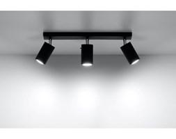Lampa Sufitowa Listwa Spot Plafon RING 3 czarny LED!