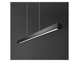 Lampa wisząca SET RAW FLUO suspended 54411-02 Aquaform metalowa OPRAWA zwis prostokątny belka czarna