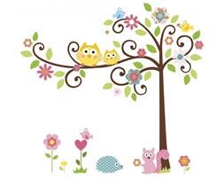 Naklejki dekoracyjne – Kwitnące drzewo - 2 arkusze, 80 szt.