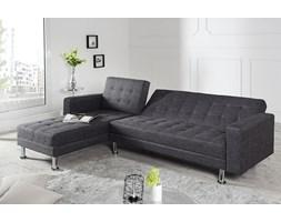 Sofa narożna Confort szara (z funkcją spania)