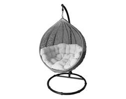 Miloo :: Fotel wiszący Cocoon beżowo-szary z jasną poduszką
