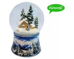 Śnieżny Krajobraz Kula z Pozytywką 8542