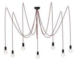 Lampa wisząca zwis oprawa żyrandol Nowodvorski Spider 7x60W E27 czerwona 6786 - wysyłka w 24h