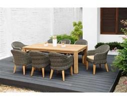 Stół prostokątny z drewna tekowego Jambi 220x100