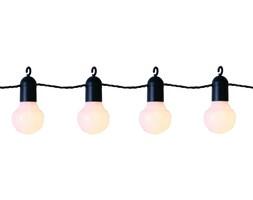 PARTY LIGHTS - Girlanda zewnętrzna LED 20-punktowa Biała z haczykami Dł.10,7m