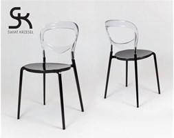 Eleganckie designerskie krzesło GHOST LINE