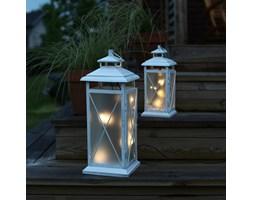 STALLIS - Laterna LED zewnętrzna metal Biały Wys.30cm