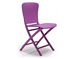 Dkwadrat Krzesło składane Zac fioletowe