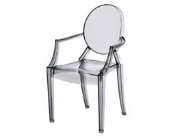 D2 Krzesło Royal Jr. transparentny dymiony - d2-48946
