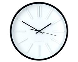 Okrągły zegar ścienny, wskazówkowy, Ø 35 cm