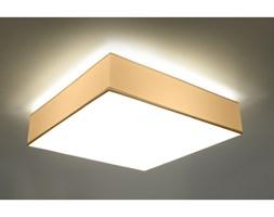 Rewelacyjny Efekt Świetlny Lampa na Sufit Plafon HORUS 45 Biały Kwadrat
