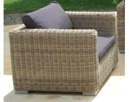 Miloo :: Florence fotel ogrodowy z podłokietnikami