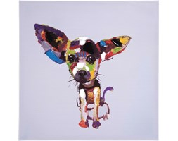 KARE Design :: Obraz olejny Chihuahua 50x50cm
