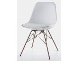 Tenzo Krzesło Grace Porgy białe nogi brązowe - GracePorgy-B-BR