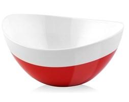 Miska Livio Duo owalna czerwona 28 cm Vialli Design