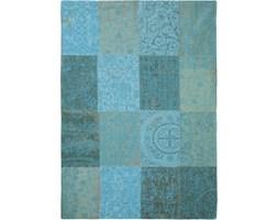 Dywan Vintage Patchwork (turkusowy) - Azur 8015 60x90 cm