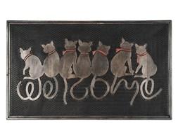 BO-MA Wewnętrzna wycieraczka Siedzące koty, 45 x 75 cm,