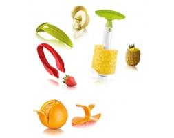 Zestaw narzędzi do obierania owoców. Dostępny od ręki